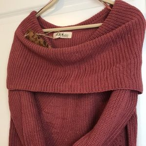 Vici Sweaters - Vici Off The Shoulder Sweater